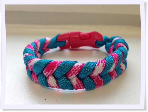 Relativ Paracord-Anleitung – Kinderleicht ein Armband gestalten PL92