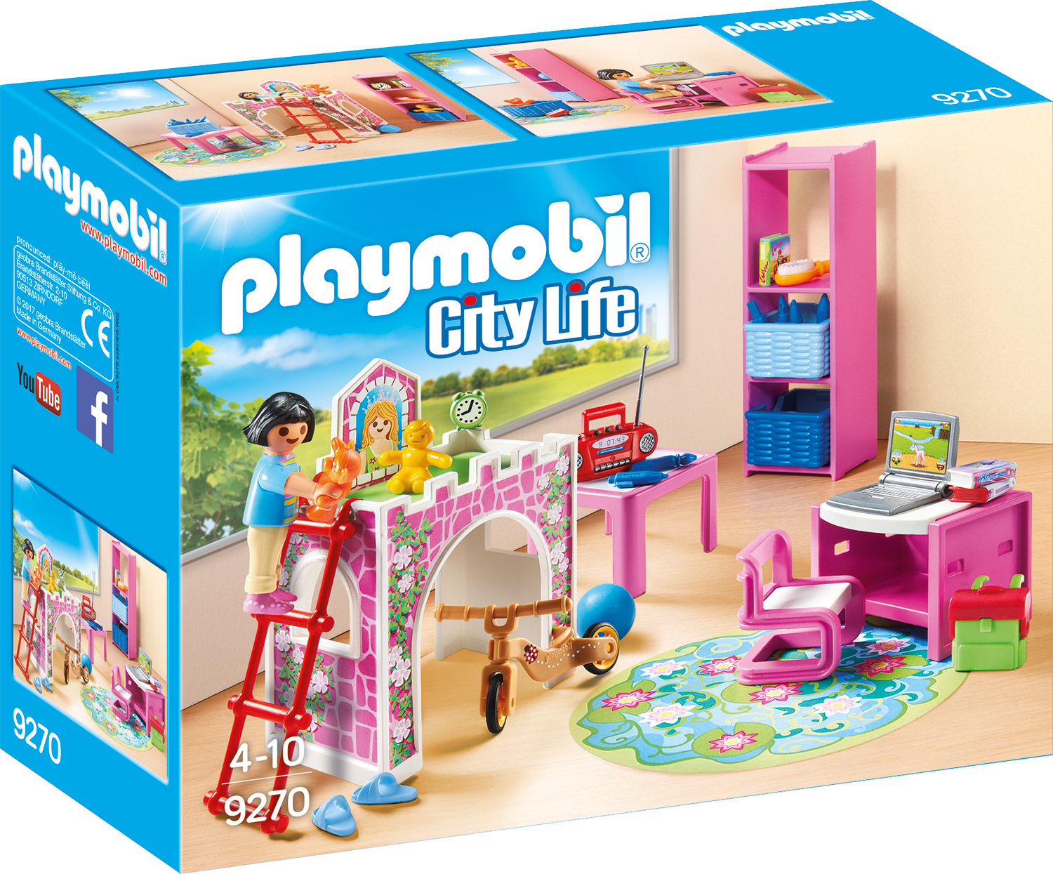 Playmobil das sind die trends 2017 mytoys blog for Kinderzimmer playmobil
