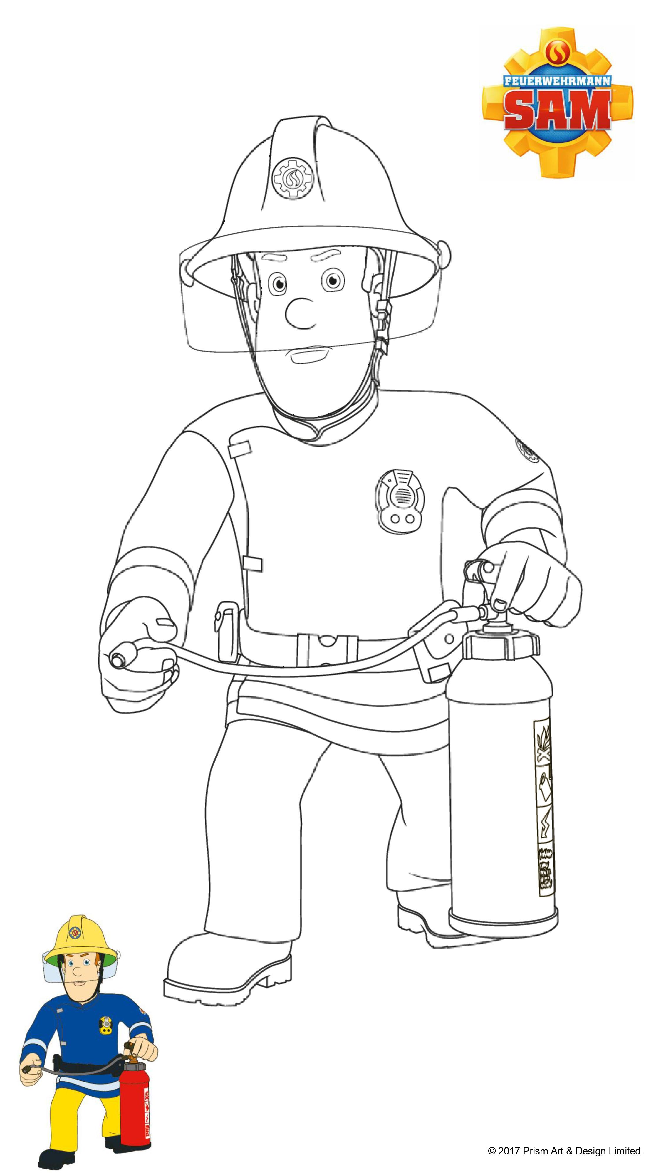 Feuerwehrmann Sam Ausmalbilder Kika : Feuerwehrmann Sam Ausmalbilder Mytoys Blog