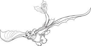 Dragons Ausmalbilder Ohnezahn