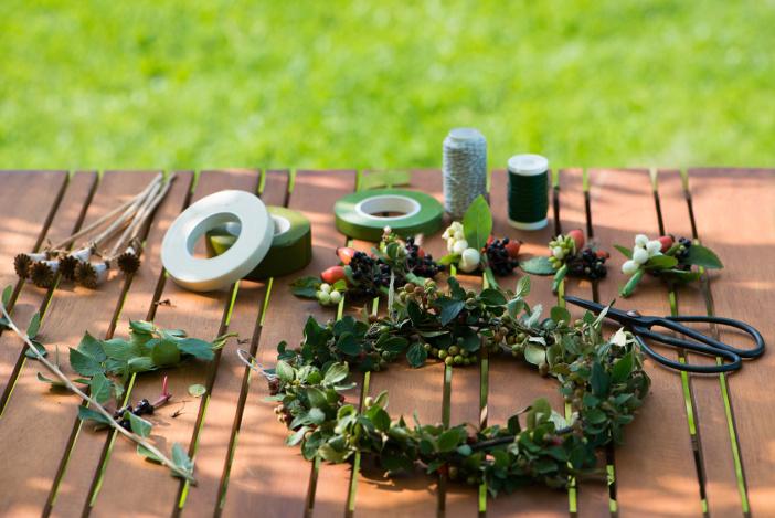 Herbstbasteln mit Kindern: Herbstdeko basteln, Basteln mit Naturmaterialien und Drachen basteln