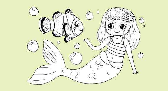 Kostenlose Ausmalbilder Meerjungfrau: Unsere magischen myToys-Malvorlagen Meerjungfrau: Komplett kostenlos!